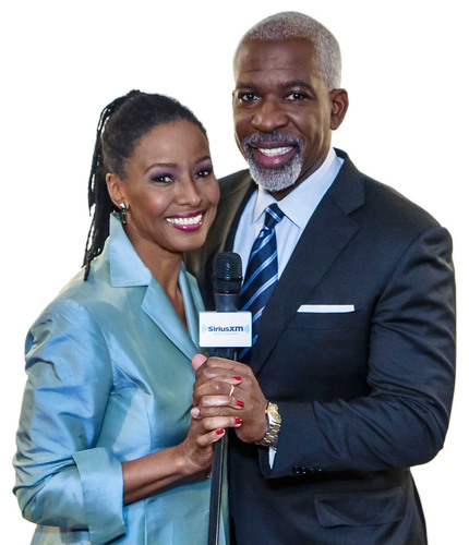 """The B. Smith and 'Thank You Dan' Show"" launches on SiriusXM.  (PRNewsFoto/Sirius XM Radio)"
