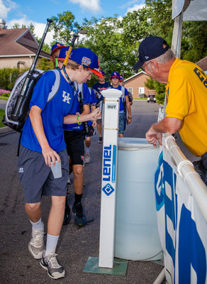 Players at the Little League World Baseball(R) Series in Williamsport, Pennsylvania check out of the Grove's dorm facilities using their access control badges powered by Lenel's OnGuard(R) security management platform. This is the 18th year the games have been secured by Lenel.