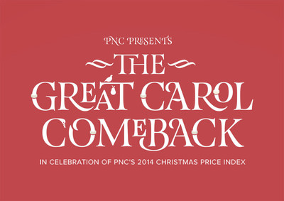 PNC's Christmas Price Index website brings a classic carol to a new generation (PRNewsFoto/The PNC Financial Services Group)