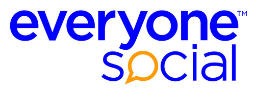 EveryoneSocial is an integrated social publishing platform that enables employees to amplify their company's brand. The company provides social media marketers with tools to extend their brand and increase thought leadership through a stream of original and freshly curated content, shareable across social channels. (PRNewsFoto/EveryoneSocial) (PRNewsFoto/EveryoneSocial)