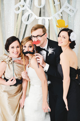 Classic Glam Photo Booth Accessories