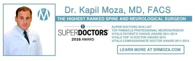 Dr. Kapil Moza - 2016 Super Doctors Award