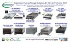 Supermicro(R) Server/Storage Solutions for Hyper-Converged Infrastructure @ VMWorld 2015