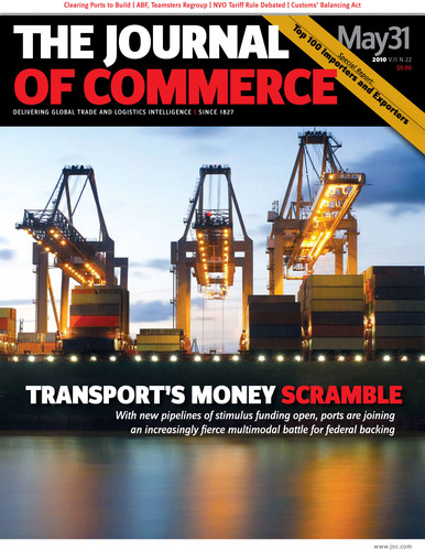The Journal of Commerce Ranks Top 100 Importers and Exporters for 2010, Report Finds Mixed Signals