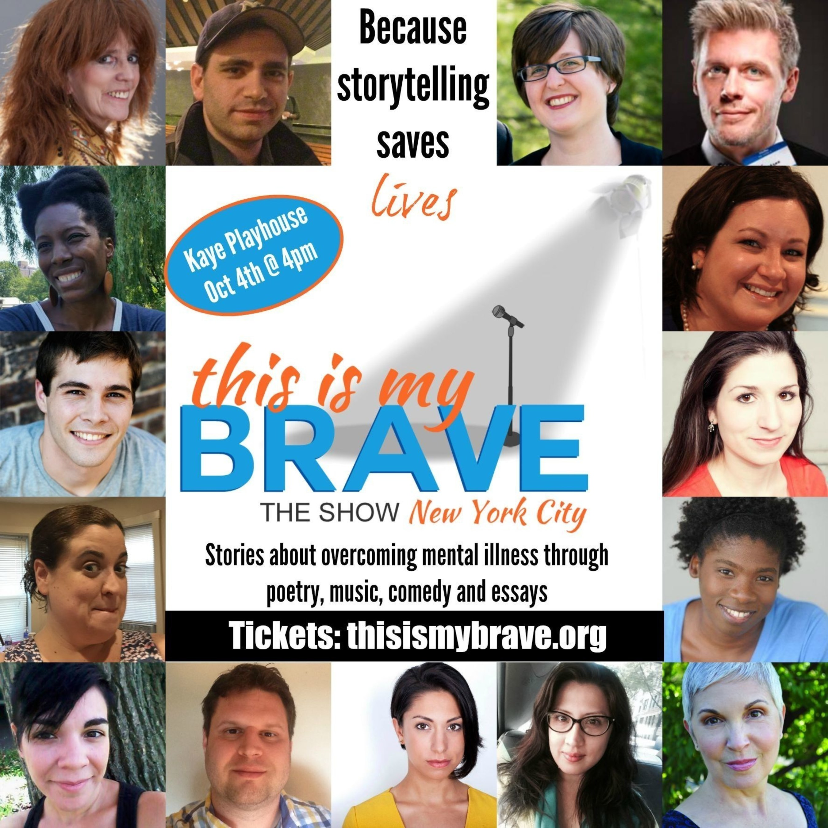 'This Is My Brave: The Show' Dispels Mental Illness Stigma With New York City Event