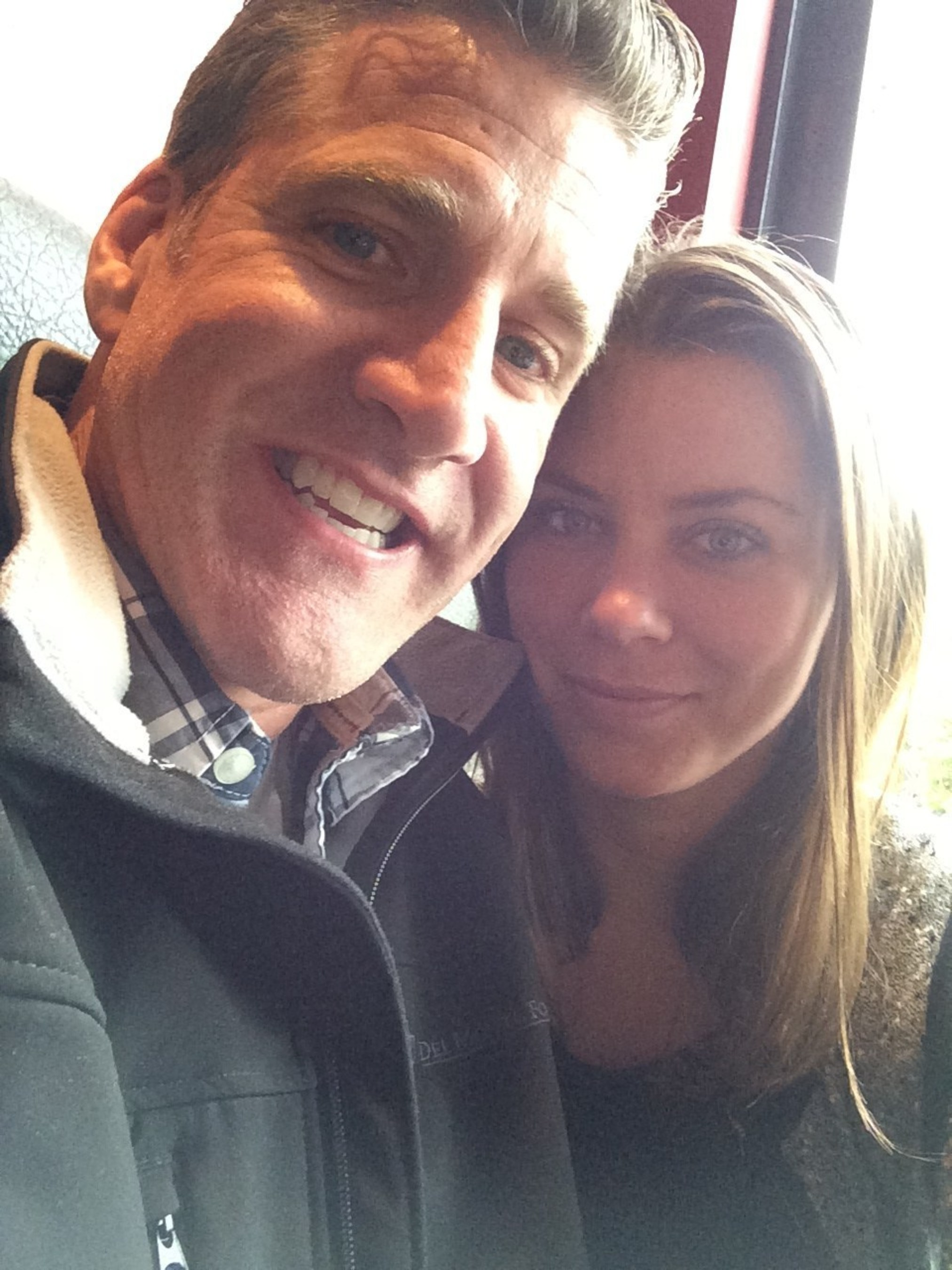 Dan Diaz and wife Brittany Maynard in 2014
