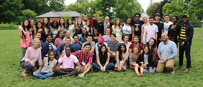 The thirty-nine 2016 Young Leaders Program participants and the MCW team at Champlain College, Burlington, Vermont.