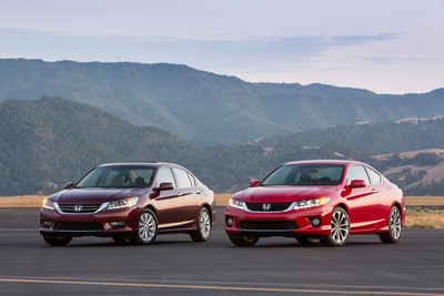 American Honda Leads the Industry with Six 2014 TOP SAFETY PICK Vehicles.  (PRNewsFoto/American Honda Motor Co., Inc.)