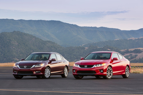 American Honda Leads the Industry with Six 2014 TOP SAFETY PICK Vehicles. (PRNewsFoto/American Honda Motor Co., Inc.) (PRNewsFoto/AMERICAN HONDA MOTOR CO., INC.)