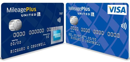 The MileagePlus® Credit Card Account comes with two cards (PRNewsFoto/PR NEWSWIRE EUROPE)