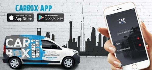 Carbox App your hassle free mobile car care and services provides (PRNewsFoto/Carbox Services)