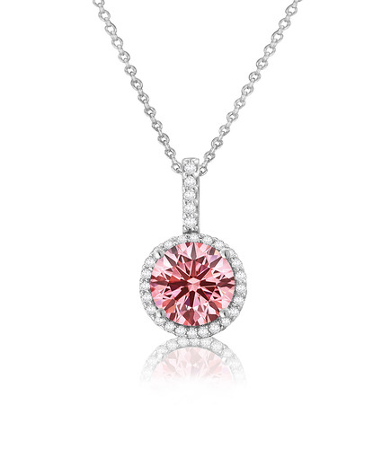 Gemesis Diamond Company Unveils Fancy Pink Lab Grown Collection Prnewsfoto