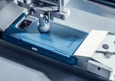 OtterBox certified Drop+ Protection means that every case design undergoes a minimum of 238 hours of testing across 24 hours or more.