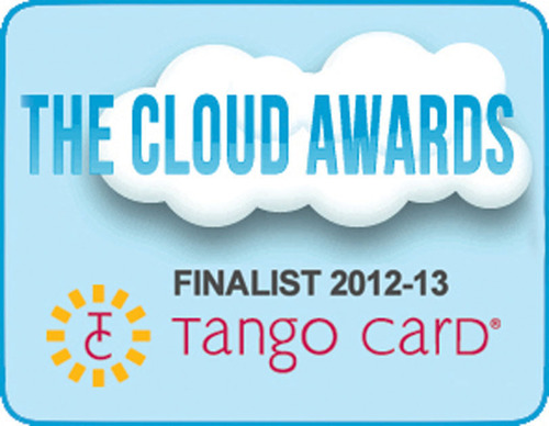 Seattle RaaS provider, Tango Card, has been nominated for a 2012-2013 Cloud Award.  (PRNewsFoto/Tango Card)