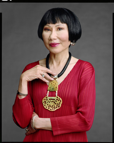 "Author Amy Tan is one of 19 influential baby boomers included in a new exhibit called, ""The Boomer List: Photographs by Timothy Greenfield-Sanders,"" opening Sept. 26, 2014 at the Newseum in Washington, D.C. (PRNewsFoto/Newseum)"