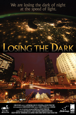 "The new International Dark-Sky Association planetarium program ""Losing the Dark"" provides simple solutions to reduce light pollution and improve safety and visibility. Restoring the night sky conserves energy, saves money, and reduces air pollution, while protecting the environment and human health.  (PRNewsFoto/International Dark-Sky Association)"