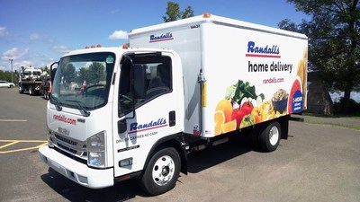 Randalls introduces grocery delivery today in the Houston and Austin areas.  Personal shoppers select grocery items from a local Randalls store, then the order is delivered in special temperature-controlled trucks with separate zones for hot, cold and frozen foods.
