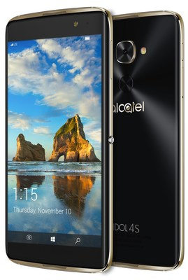 With innovative Windows 10 features like Continuum, powerhouse flagship smartphone specs and an in-box VR experience, IDOL 4S is the perfect amount of unreal productivity