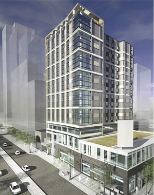 The flagship 222-room, 14-story Cambria hotel & suites Philadelphia, located at 219-225 S. Broad Street is set to open in 2017 along the Avenue of The Arts with a first-class restaurant, 2,500 square feet of fully-appointed meeting space, 2,500-square-foot pool area, 2,000-square-foot fitness center, and 3,000-square-foot rooftop area used for private events