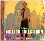 Million Dollar Arm cover art (PRNewsFoto/Walt Disney Records)