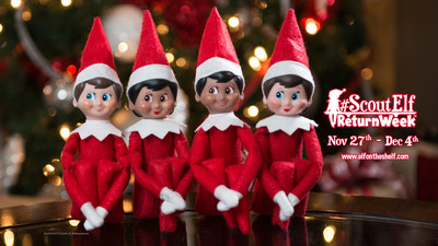 The Elf on the Shelf(R) Kicks Off Scout Elf Return Week(TM)