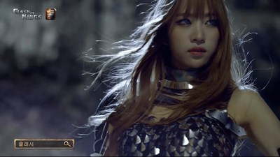 EXID singer Hani is a very rugged and tough warrior and sexy gladiator in Clash of Kings's new commercial