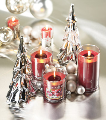 Exquisitely rich and festive Luscious Plum is one of the seven new fragrances from Yankee Candle this holiday season.