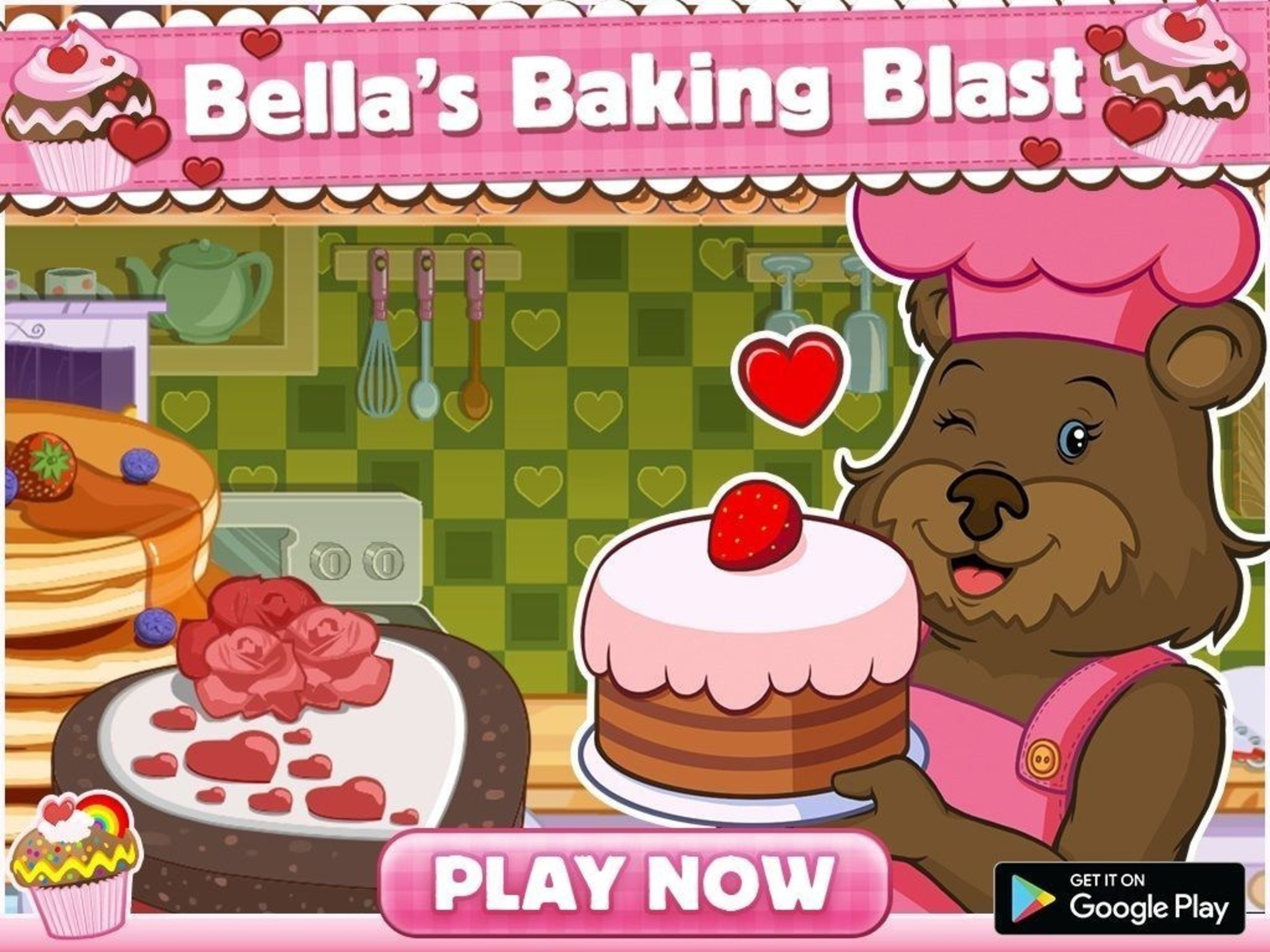 'Bella's Baking Blast' App for Children Delivers Virtual Baking Fun