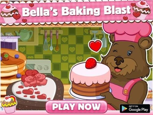 """Bella's Baking Blast"" app for children delivers virtual baking fun (PRNewsFoto/Dramaforum)"