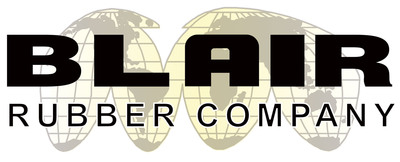 Blair Rubber Company Logo.  (PRNewsFoto/Blair Rubber Co.)