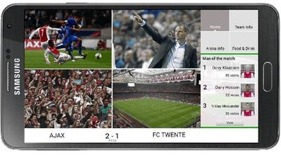 A new mobile app developed by IBM and KPN enriches the in-stadium experience for fans at the Amsterdam Arena.