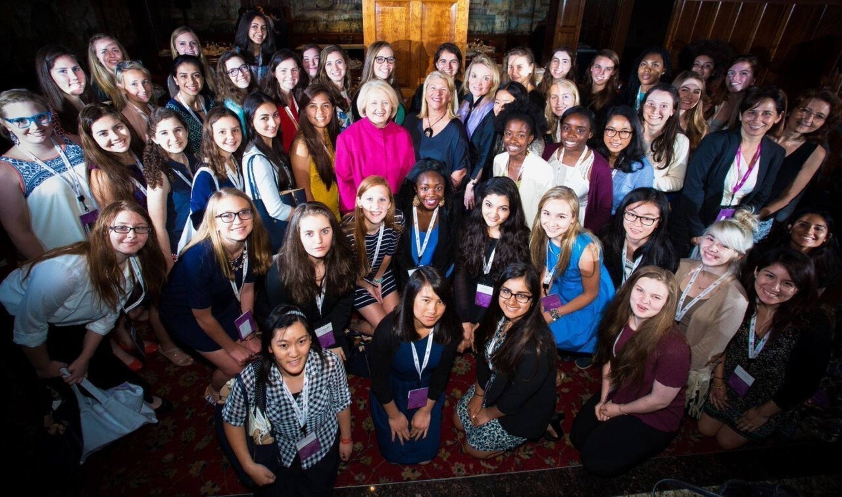 Ambassador Melanne Verveer, Kay Krill and Alyse Nelson mentor 50 Fellows at the 4th annual ANNpower Leadership Forum in Washington, D.C.