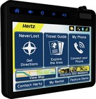 Hertz and Navigation Solutions launch next generation Hertz NeverLost(R) GPS system. (PRNewsFoto/The Hertz Corporation)