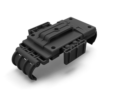 StatGear's new Tech Division has launched their new R.U.S.H. Rugged Universal Smartphone Holster on Kickstarter.com. The patent pending R.U.S.H. Rugged Universal Smartphone Holster by StatGear was developed to be the last smartphone holster you will ever need.  (PRNewsFoto/StatGear)