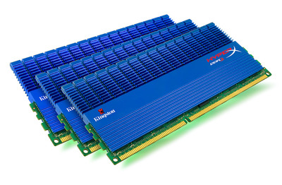 Kingston Technology releases the fastest Intel-certified triple-channel memory in the world, running at an incredible 2333MHz.  (PRNewsFoto/Kingston Technology Company, Inc.)