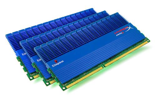 Kingston Technology Creates World's Fastest Triple-Channel Memory — Intel Certifies HyperX Clocked