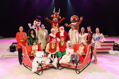 Santa & Friends on Ice Performs in the Beau Rivage Theatre, Dec. 1-27.