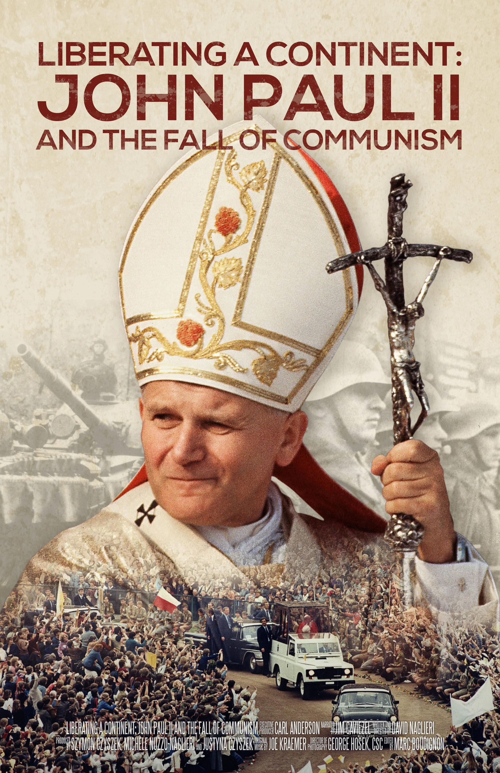 The National Academy of Television Arts and Sciences, Chicago/Midwest Chapter, nominates Liberating a Continent: John Paul II and the Fall of Communism for five Emmy awar