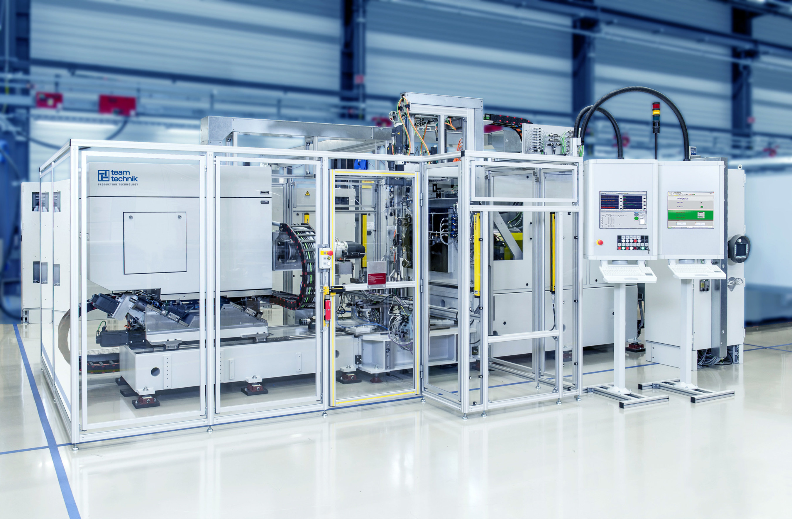 teamtechnik: series production of transmission test benches | Photo: teamtechnik (no fee for printing - notification requested)