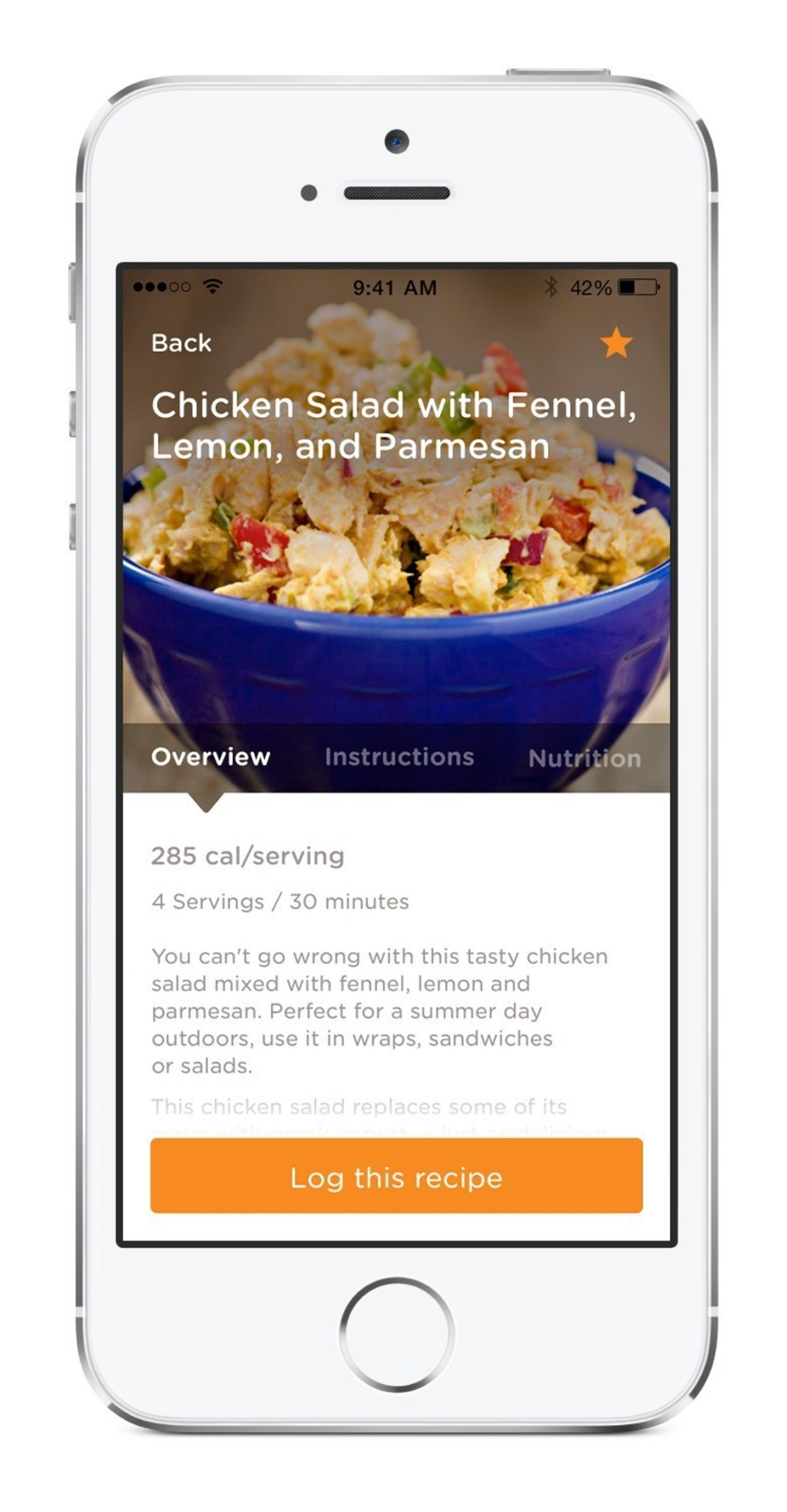 Healthy recipes from Rodale Inc on the Noom Coach weight loss app.