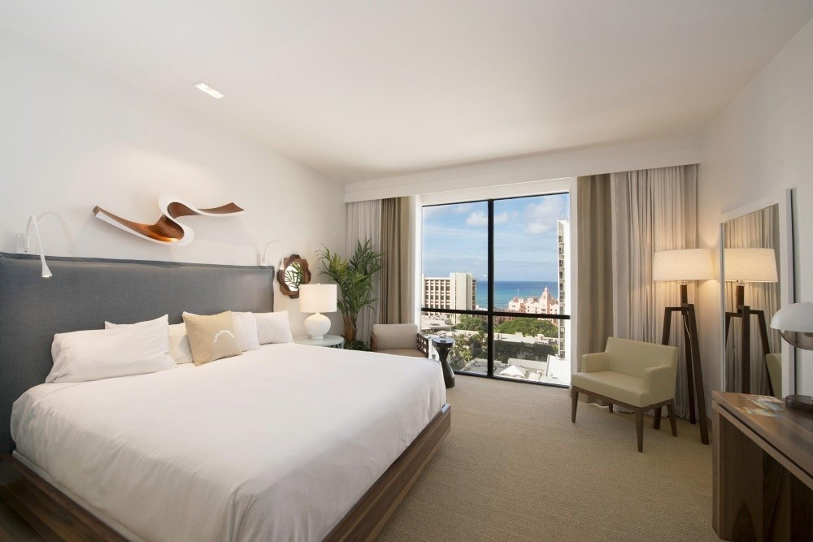 Hyatt Centric Waikīkī Beach room rendering