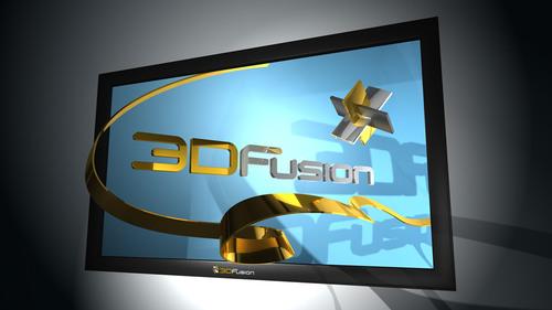 3DFusion New 3DTV ASD Glasses Free Platform.  (PRNewsFoto/3DFusion)