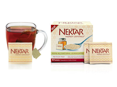 Nektar Honey Crystals (PRNewsFoto/Nektar Naturals Fine Foods, LLC)