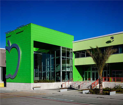 The National Development Council, Community Reinvestment Fund and the Local Initiatives Support Corporation partnered to provide New Market Tax Credit financing to the Houston Food Bank. Photo source: The Houston Food Bank (PRNewsFoto/New Markets Tax Credit Coalition)