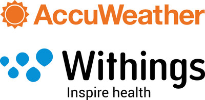 AccuWeather and Withings