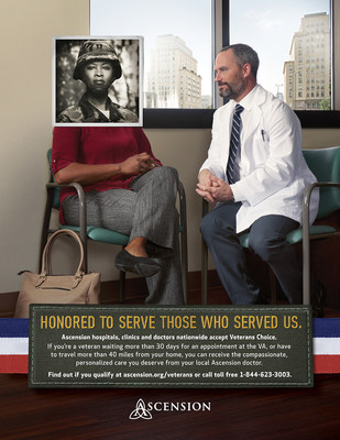 Ascension associates are honored to fulfill our mission of serving all persons, especially those most in need.