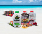 Pocket Shot introduces three new flavor offerings to its on-the-go, single-serve alcohol pouch product line - Defrost Peppermint Schnapps, 8 Seconds Honey Cinnamon Canadian Whiskey and Cherry Vodka.
