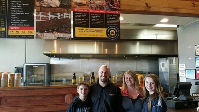 The Wenzel family opens Dickey's Barbecue Pit in Sterling Heights on Thursday