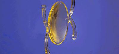 PhysIOL Ankoris hydrophilic acrylic intraocular lens (IOL).  (PRNewsFoto/Bausch + Lomb)