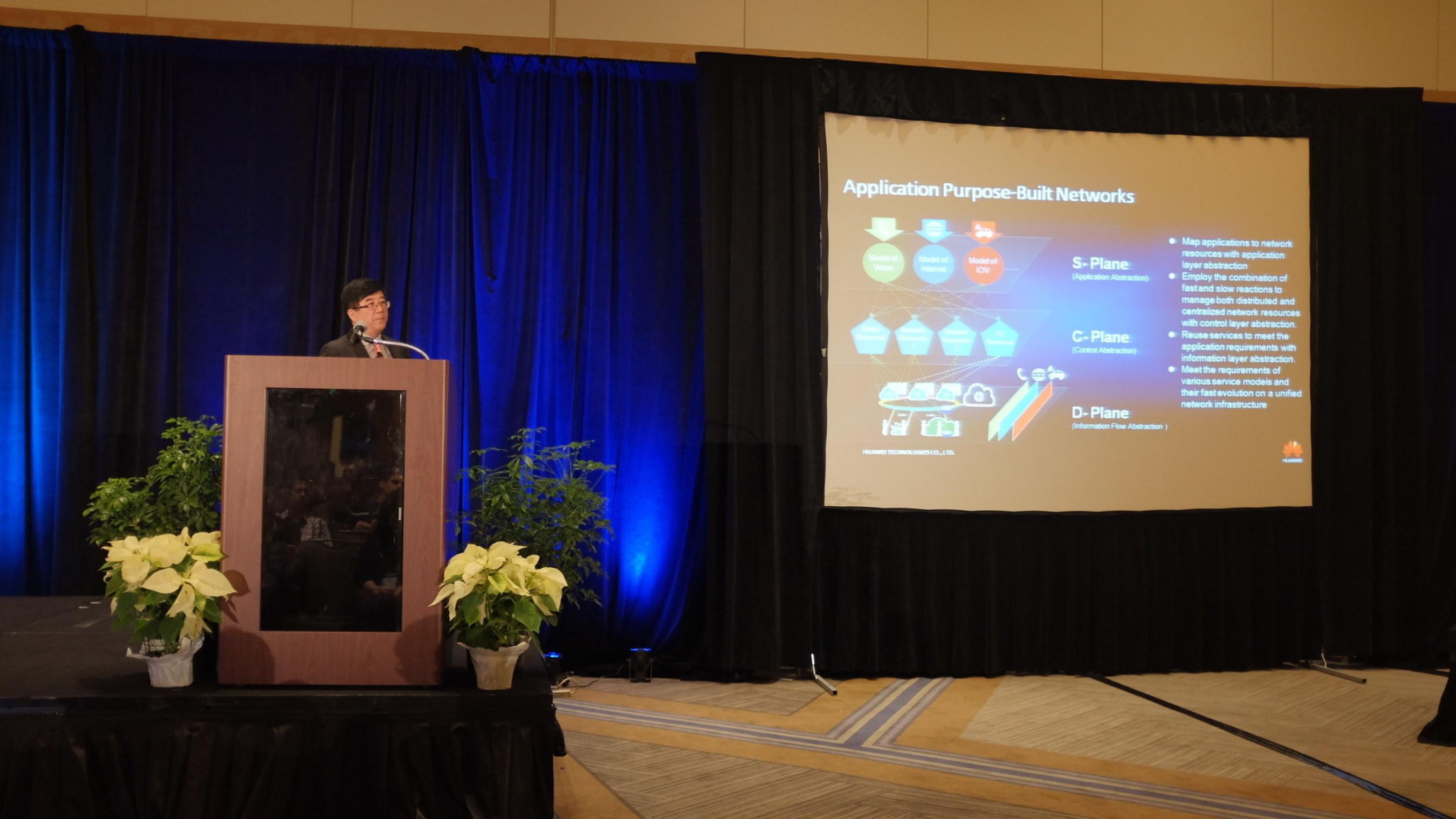Huawei anuncia la visión de red basada en la aplicación para reinventar conceptos de arquitectura